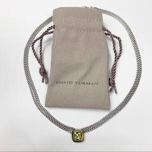 Yurman Triple Cable Strand Citrine Albion Necklace